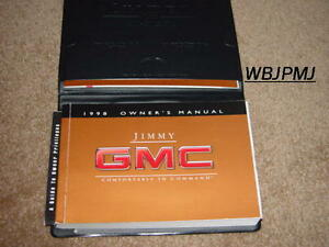 1998 gmc jimmy owners manual how to and user guide instructions u2022 rh taxibermuda co 1992 GMC Jimmy 1995 gmc jimmy owners manual