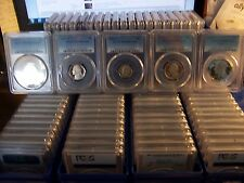 (LOT OF 100) PCGS PROOF 69 GRADED COINS-FRESHLY GRADED-THIS IS THE REAL DEAL #21
