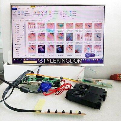 HDMI+DVI+VGA LCD Lvds Controller Converter Board Kit for 1600X1200 HV150UX1-100