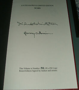 Signed-Limited-First-Edition-of-Scars-by-Richard-Christian-Matheson-Scream-Press