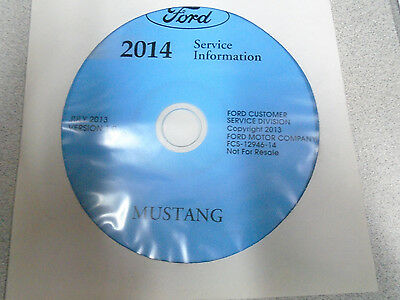 2015 Ford TAURUS Workshop Service Shop Repair Manual ON CD NEW OEM ...