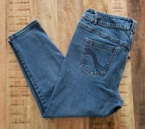 Women-039-s-Lane-Bryant-Genius-Fit-Skinny-Jeans-Sz-18-Petite-Stretch