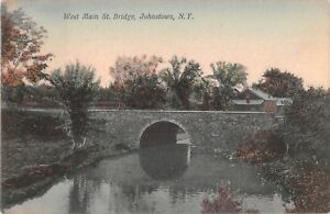 New-York-postcard-Johnstown-West-Main-St-Bridge-ca-1908