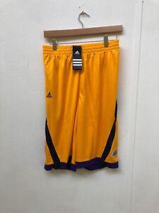 Image is loading Adidas-LA-Lakers-Basketball-Kids-Club-Shorts-Various- a36984a2b