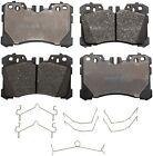 Disc Brake Pad Set-ProSolution Semi-Metallic Brake Pads Front Monroe FX1282