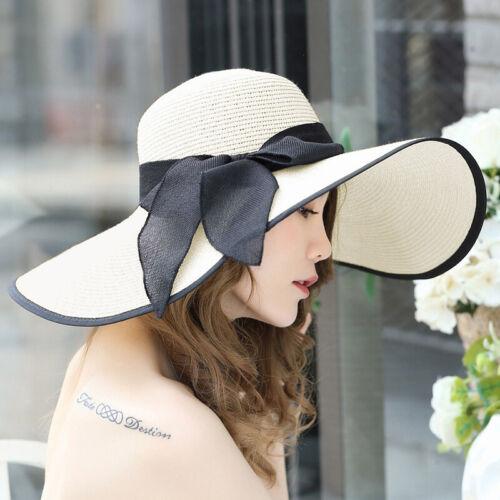 Damenhüte Elegant Strohhüte Sommerhut Hochzeit Sonnenhut Strandhut Kappen Mütze
