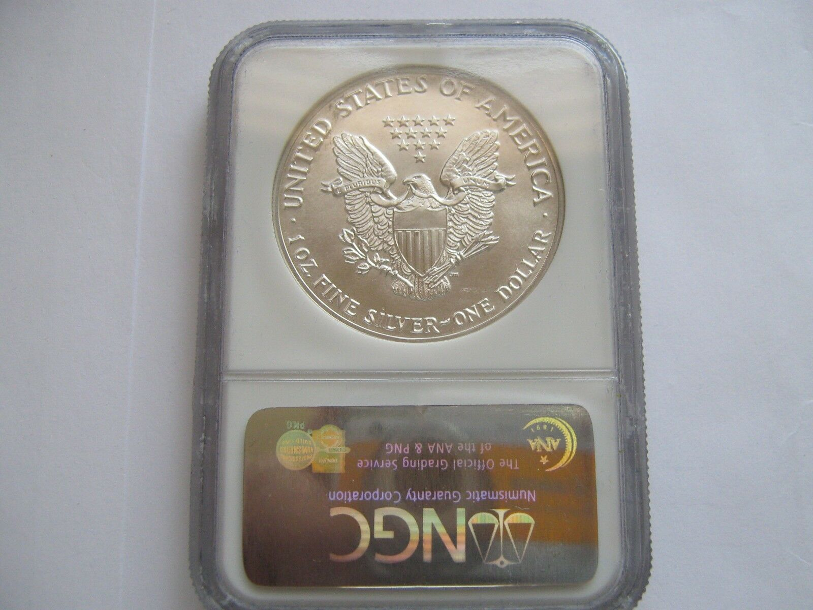 1987 , American Silver Eagle , NGC , MS 69