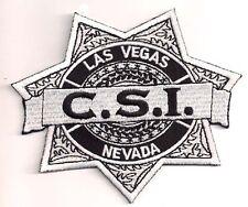 "CSI Las Vegas Patch Crime Scene Investigation Logo 4.5"" Patch-FREE S&H (CSPA-02)"