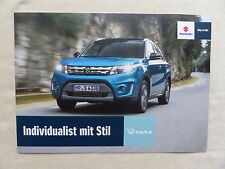 Suzuki Vitara - Prospekt Brochure 2015