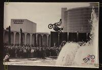 Even Knievel Poster Caesars Palace Jump Pin-up Motorcycle Harley Davidson 50th