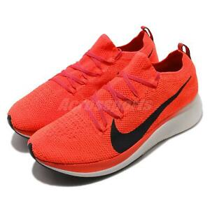 72e694b7ad52d Nike Zoom Fly FK Flyknit Bright Crimson Black Men Running Shoes ...