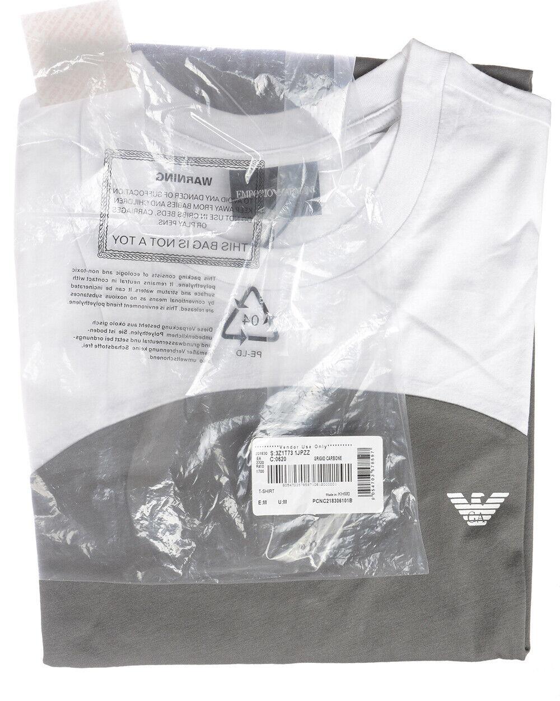 T shirt Maglietta Emporio Armani Armani Armani Sweatshirt Cotone Uomo Grigio 3Z1T731JPZZ 620 b370e4