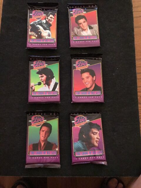 Pack Of 12 Elvis Presley Trading Cards From 1992 Series 1 Collection