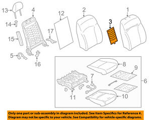 image is loading subaru-oem-14-15-forester-seat-heater-element-