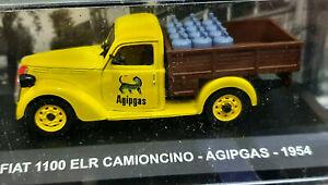 Fiat-1100-ELR-Camioncino-AgipGas-1954-Scala-1-43-Die-Cast-DeAgostini