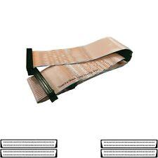 SCSI Flat Ribbon Terminator Cable U320 68-pin 4-Drive Amphenol G802002 4041~55