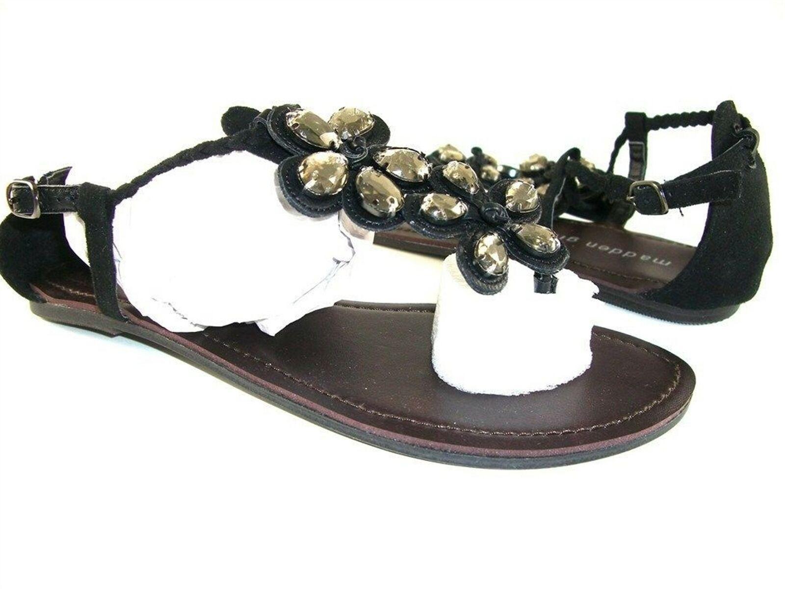 Madden Girl Women's Amithyst Thong Sandals Size 9 M
