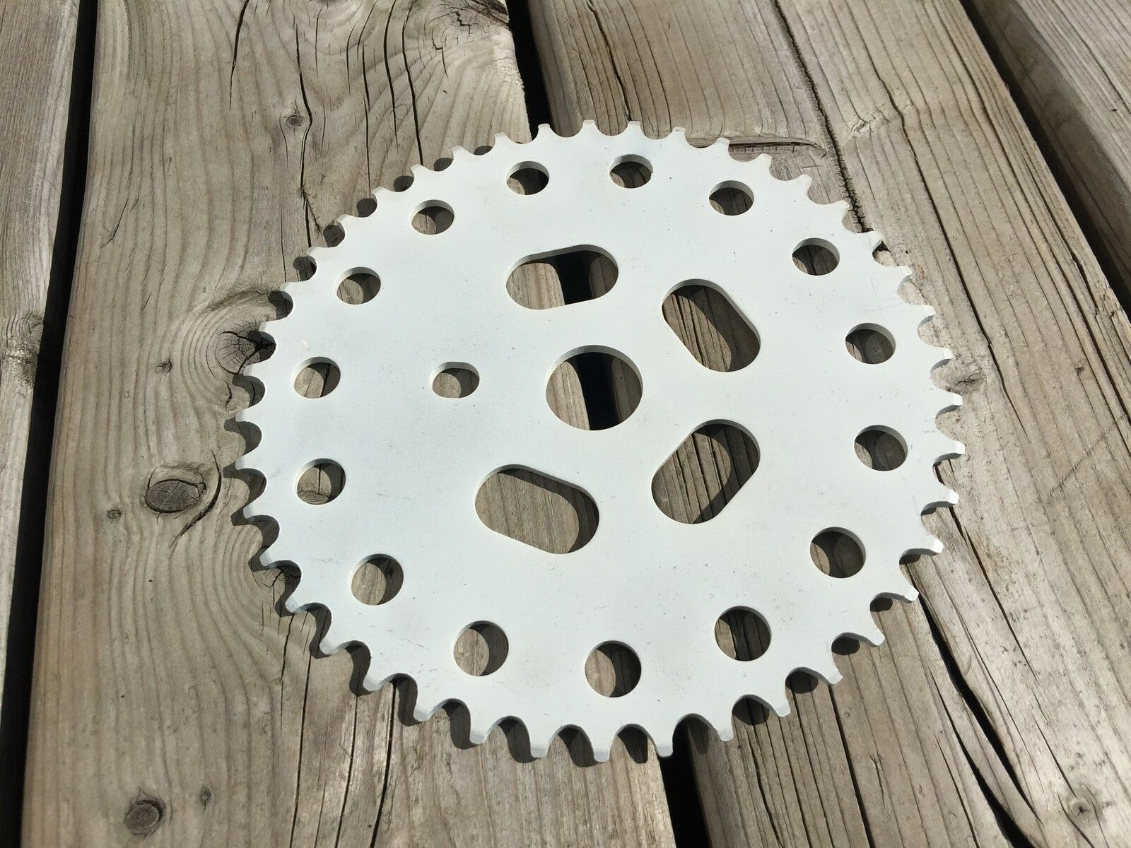 OLD SCHOOL BMX POWER DISC ALLOY CHAINRING  42T CRANKSET NOS NEW MX OLDSCHOOL BMX  low price