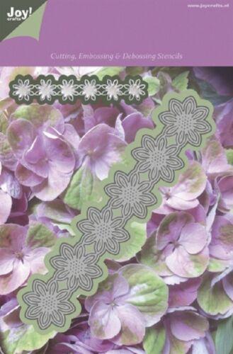 Joy Crafts corte relieve grabado Die Flor #8 Hojas punto 1201//0088 *