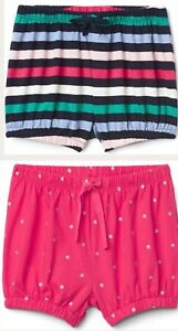 NWT-2-TODDLER-GIRL-BABY-GAP-PULL-ON-BUBBLE-SHORTS-SIZE-3T