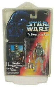 Star-Wars-Kenner-The-Power-of-the-Force-Boba-Fett-Figure-Hand-Error-Rare-Sealed