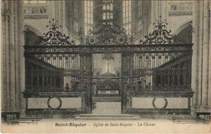 CPA St-RIQUIER Eglise de St-Riquier Le Choeur (807386)