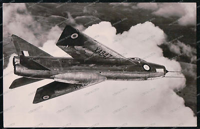 Sammeln & Seltenes Tireless Foto-ak-english-electric-p.1b-lightning-xa847-england-flugzeug-airplane-