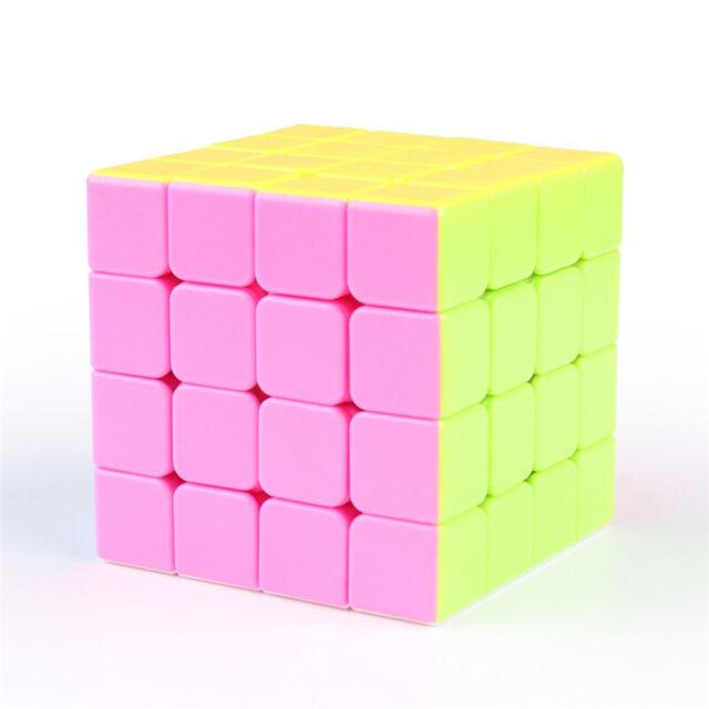 MoYu MoFangJiaoShi MeiLong 4x4x4 Stickerless Speed Cube Ship from USA