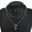 Charm-Fashion-Women-Jewelry-Pendant-Choker-Chunky-Statement-Chain-Bib-Necklace thumbnail 46