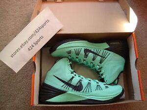 promo code c83a7 53f55 Image is loading Nike-Hyperdunk-2013-size-8-5-Green-Glow-