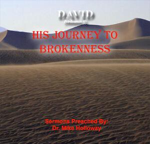 David - His Journey to Brokenness Preaching CD's KJV