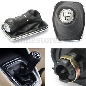 5-Speed-Gear-Shift-Knob-Cover-Stick-Lever-Gaitor-Boot-For-VW-Bora-Golf-MK4-Jetta