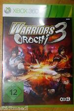 Warriors Orochi 3, XBox 360 Spiel.