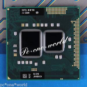 100-OK-SLC28-Intel-Core-i5-580M-2-66-GHz-Laptop-CPU-Processor