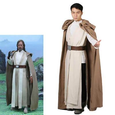 XCOSER Luke Skywalker Costume Star Wars Cosplay Outfit Halloween Costume for Men