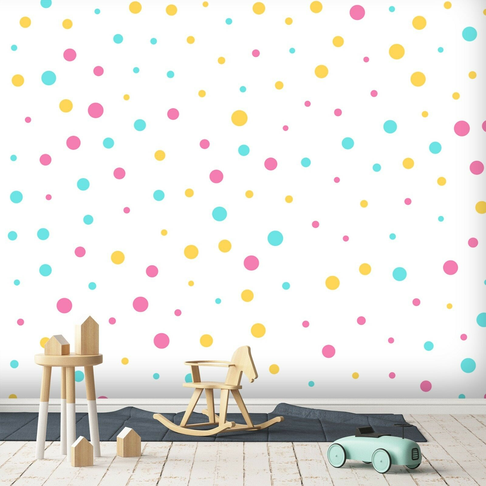 3D colord Dots 87 Wall Paper Exclusive MXY Wallpaper Mural Decal Indoor Wall AJ