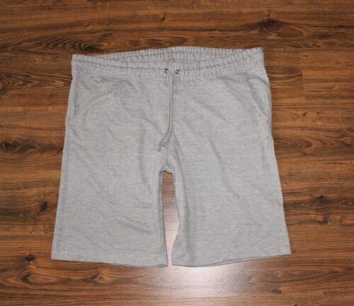 Herren kurze Hose Shorts Jogginghose Sweathose hellgrau  4XL 5XL 6XL NEU