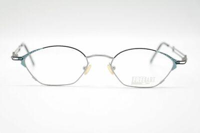 Affidabile Vintage Free Art 427 003 50 [] 18 135 Grigio/nero/colorato Ovale Occhiali Nos-unt Oval Brille Nos It-it Mostra Il Titolo Originale