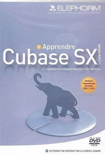 Elephorm DVD Formation - Apprendre Cubase SX & SL 1, 2 & 3