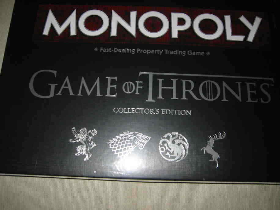 GAME OF THRONES MONOPOLY - Collector's Edition - BRAND NEW