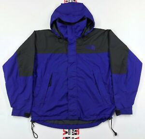 5465073c1 Details about Vintage North Face Windbreaker Jacket Mens S Small Parka STOW  AWAY Packable Hood