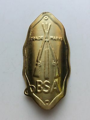 BSA Emblem Aluminum Head Badge For BSA Vintage Bicycle NOS Free Shipping