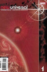 New-Universal-1-2-3-4-amp-6-Marvel-Comics-December-06-2006-2007-Warren-Ellis