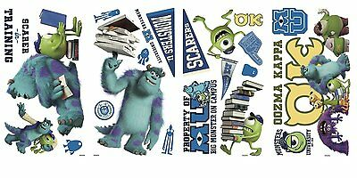 RoomMates Monsters University Peel And Stick Wall Decals
