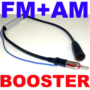 Car Antenna Radio Fm Am Signal Amp Amplifier Booster Ebay