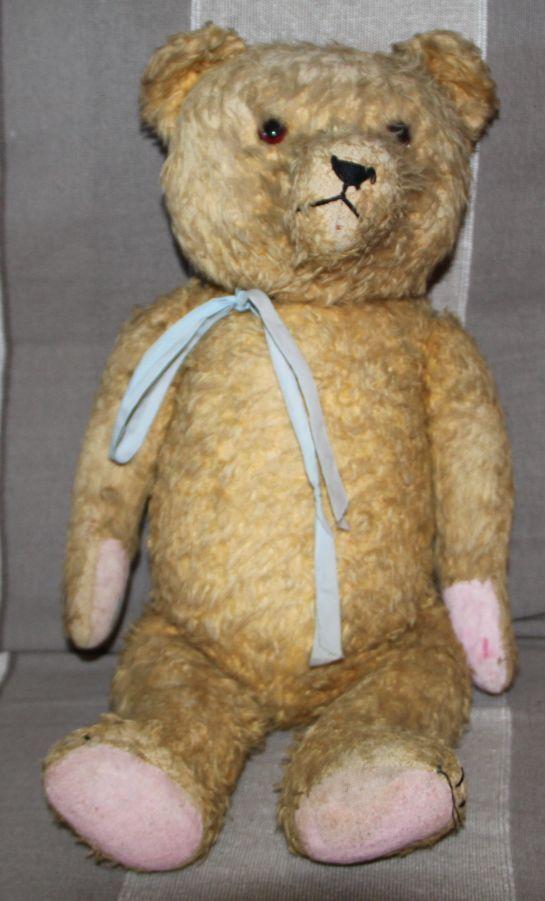Ancien Ours de collection Teddy Bear circa 1940 08 Pintel Steiff