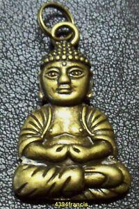 Pendentif-Statue-Statuette-Bouddha-Bronze-Buddha-Pendant