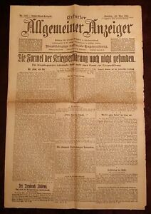 Erfurt-General-Display-23-May-1915-Historical-Newspaper-1-World-War