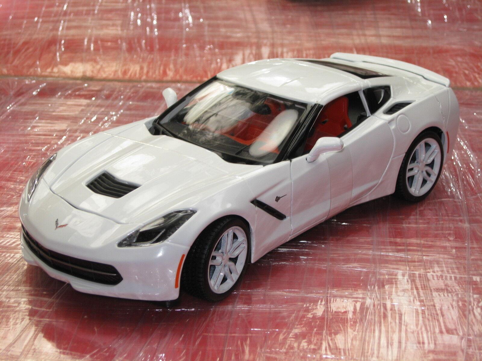 venta al por mayor barato 2014 Corvette Stingris Z51 blancoo Ártico Nuevo En Caja       bajo precio