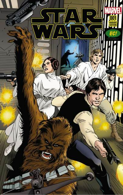 Star Wars #1 NEW Marvel Comics ALAN DAVIS Cover EXCLUSIVE Emerald City Variants
